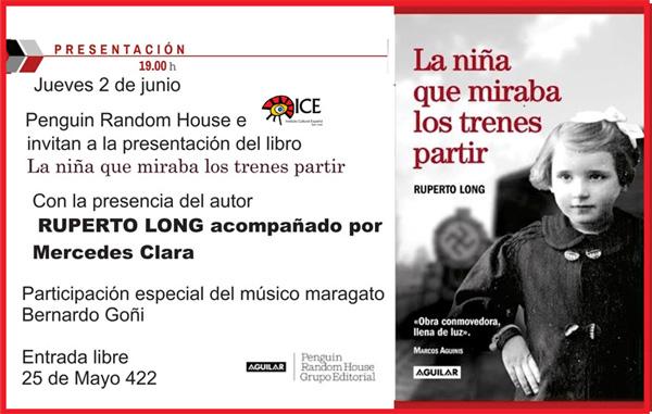 Invitación. Presentación en el Instituto Cultural de San José