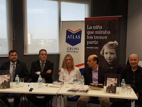 Presentación en Paraguay del último éxito editorial de Ruperto Long