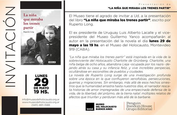 Presentación en Buenos Aires. Museo del Holocausto