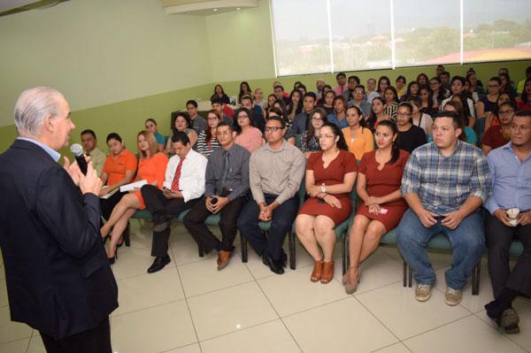 Presentación en Honduras