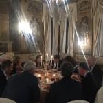 Cena organizada por el Cónsul Honorario de Uruguay, Claudio Scarpa, en el Palacio Ca´ Sagredo.