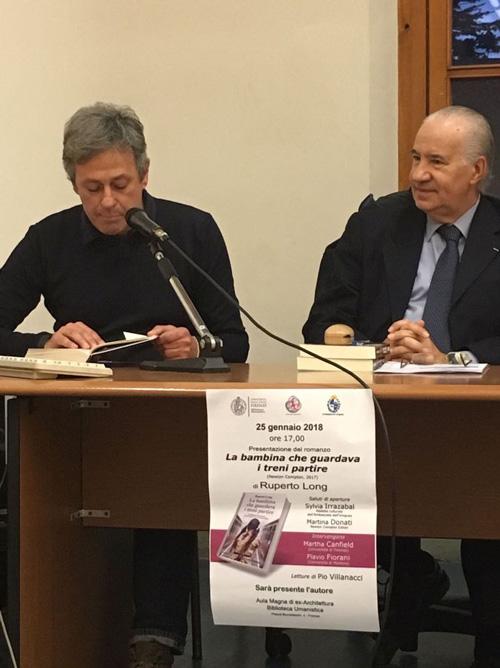 Pío Villanacci y Ruperto Long.
