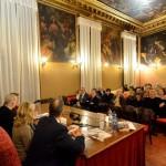 Presentación en Venecia.
